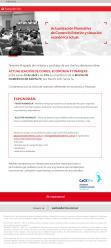 Seminario Actualizaci�n de Comex, Econom�a y Finanzas