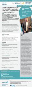 Los Nuevos Negocios de Exportacion: Cualidades de la Oferta, Sostenibilidad y Negocios Digitales