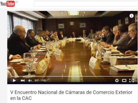 V Encuentro Nacional de C�maras de Comercio Exterior