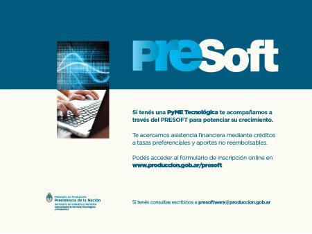PRESOFT: Para apoyar a las Industrias de Software