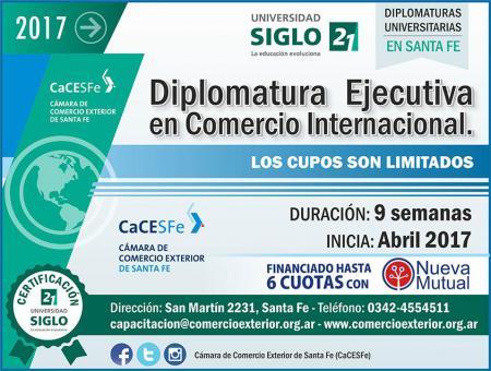 Diplomatura Ejecutiva en Comercio Internacional