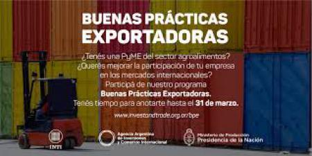 Programa Buenas Pr�cticas Exportadoras