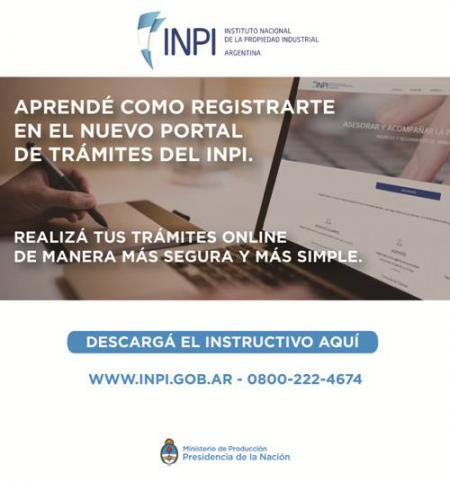 Portal de Tr�mites Web del INPI