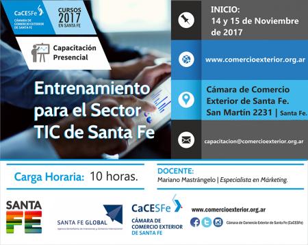 Entrenamiento TIC en Santa Fe - Mariano Mastr�ngelo