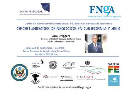 Oportunidades de Negocios en California y Asia