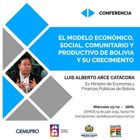 El Modelo Econ�mico, Social, Comunitario y Productivo de Bolivia y su Crecimiento