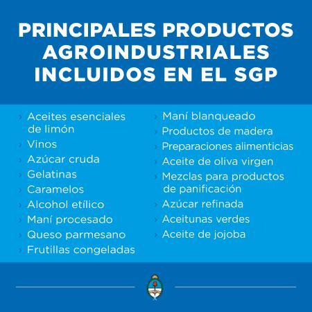 M�s de 700 productos argentinos ingresar�n a Estados Unidos con arancel cero