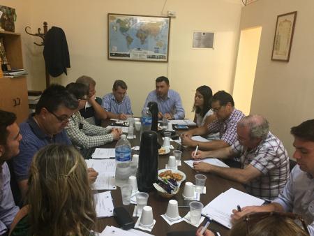 1ra Reuni�n del A�o del Consejo Consultivo de la Agencia Santa Fe Global