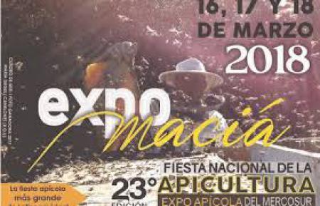 23 Edición de la Expo Maciá Fiesta Nacional de la Apicultura y 23 Expo Apícola del Mercosur