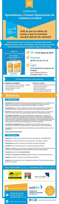 Aprendamos a Costear Operaciones de Comercio Exterior #CAMBIO LUGAR DE DICTADO