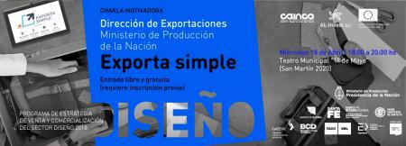 Charla sobre Exporta Simple