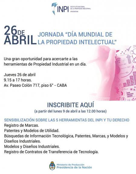 Jornada: D�a Mundial de la Propiedad Industrial
