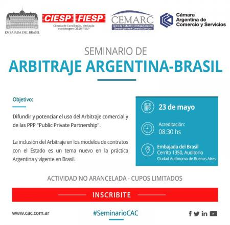 Seminario de Arbitraje Argentina - Brasil