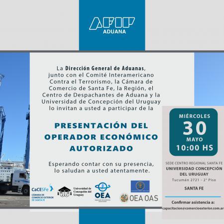 Presentaci�n del OEA - Operador Economico Autorizado