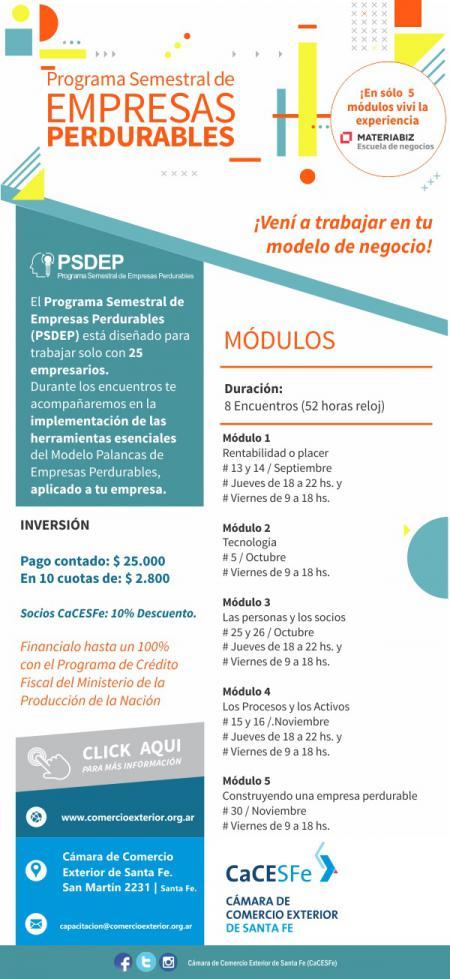 Programa Semestral de Empresas Perdurables 2018
