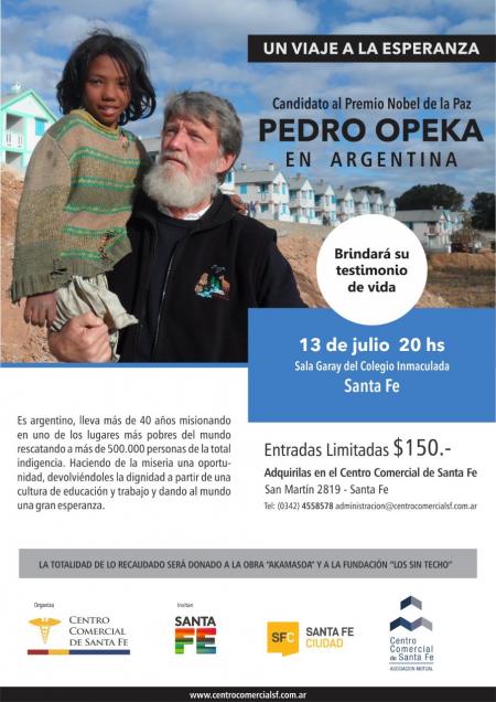 Conferencia �Un viaje a la Esperanza� de Pedro Opeka