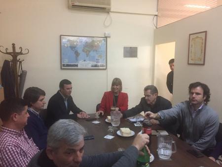 Reunión con la Diputada Nacional Alejandra Rodenas