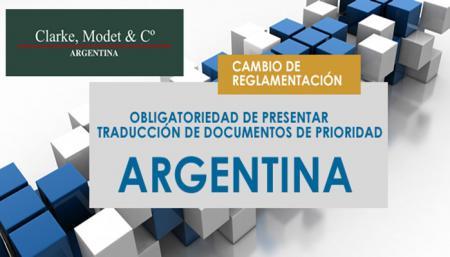 Obligatoriedad de presentar traducci�n de documentos de prioridad