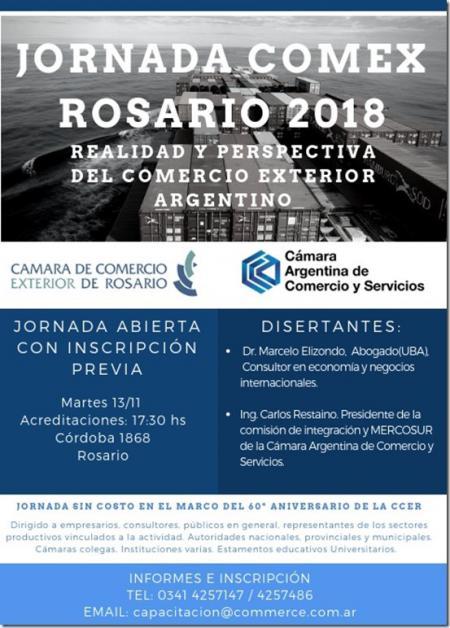Jornada Comex en Rosario