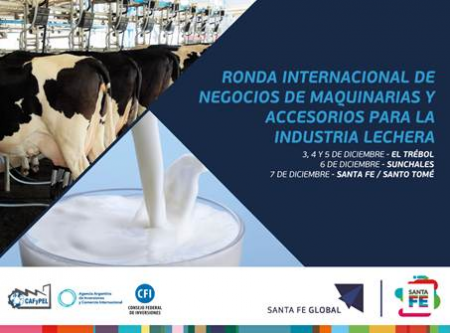 Ronda Internacional de Negocios de Maquinarias y Accesorios para la Industria Láctea
