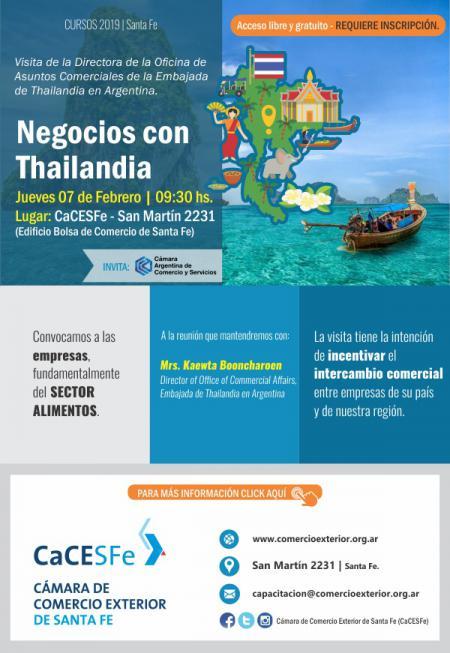Negocios con Thailandia