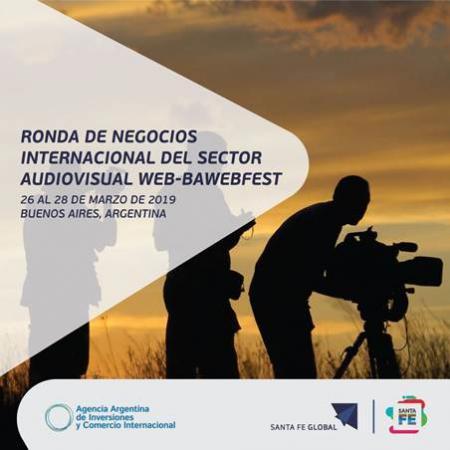 Ronda de Negocios Internacional del Sector Audiovisual Web