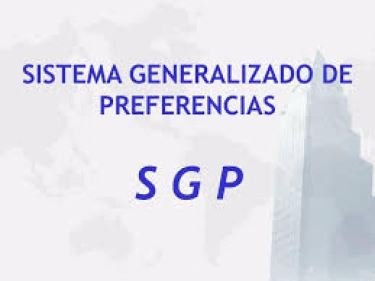 Sistema Generalizado de Preferencias (SGP)