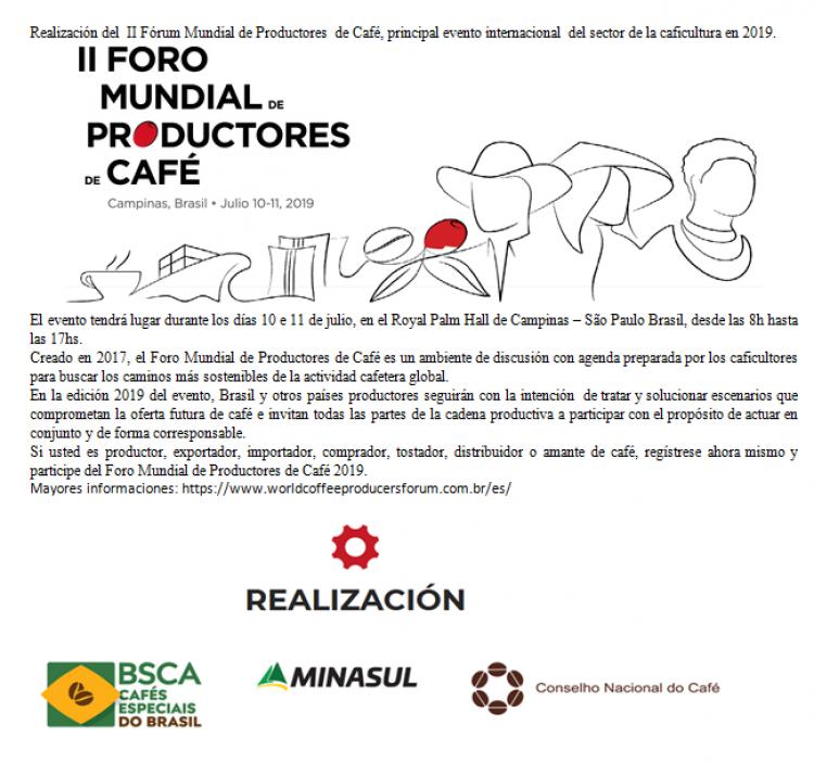 Foro Mundial de Productores de Caf� 2019