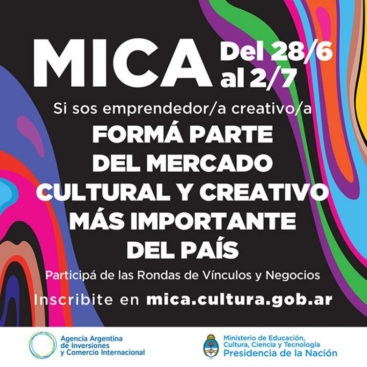 Mercado de Industrias Creativas Argentinas (MICA  2019)