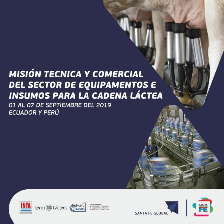 Misi�n T�cnica y Comercial del Sector de Equipamientos e Insumos para la Cadena L�ctea