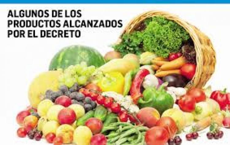 El gobierno baja los derechos de exportaci�n para productos de las econom�as regionales