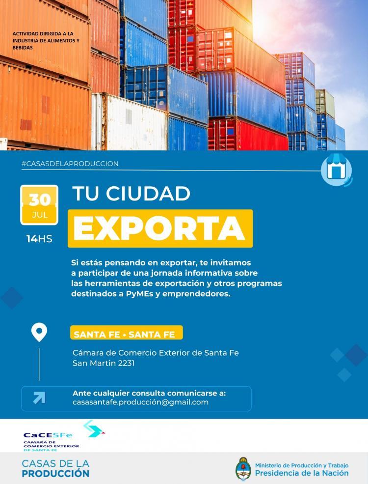 Herramientas para facilitar la Exportaci�n de las Industrias Alimenticias