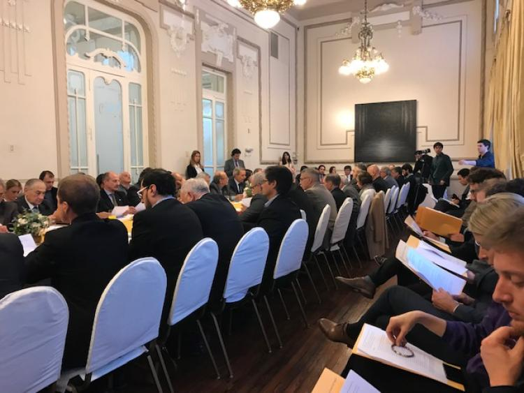 Participaci�n en el VI Encuentro Institucional Empresario de la Red de Corredor Bioce�nico Central