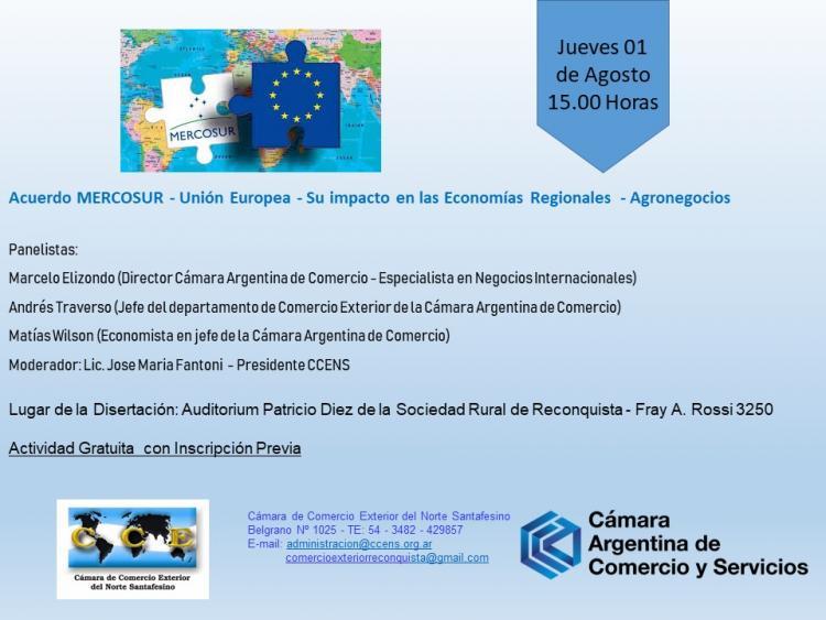 Acuerdo Mercosur - Uni�n Europea: su impacto en las Econom�as Regionales