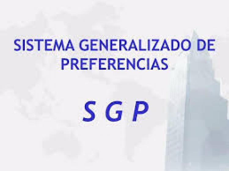 Sistema Generalizado de Preferencias (SGP) Formulario A