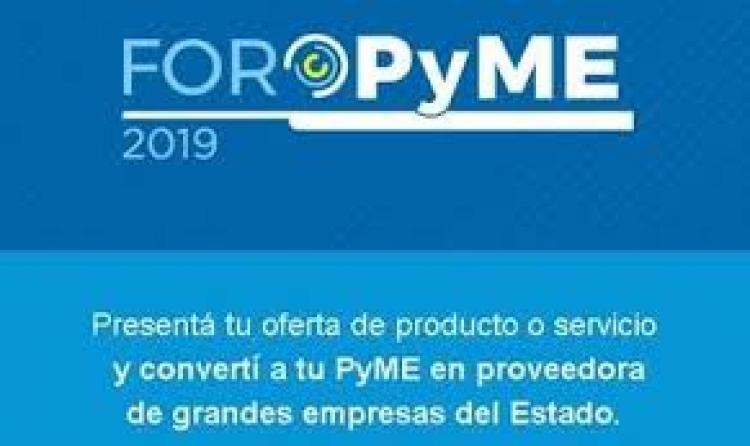 Foro Pyme: Convertite en proveedor de una empresa del Estado