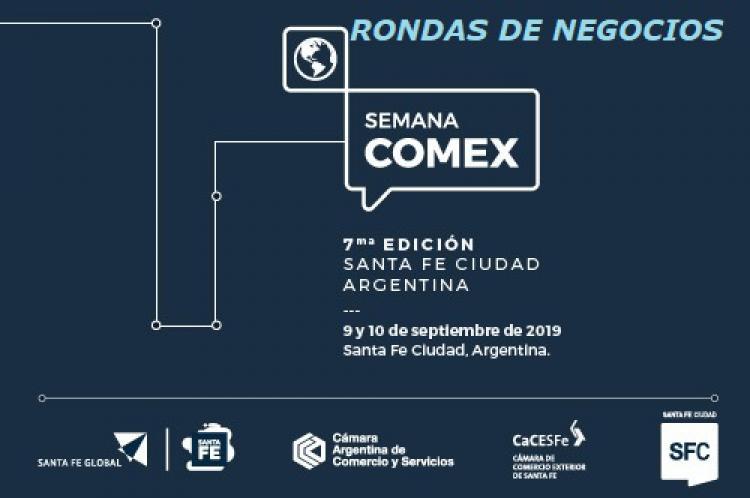 7� Semana Comex 2019 - Rondas de Negocios Internacionales