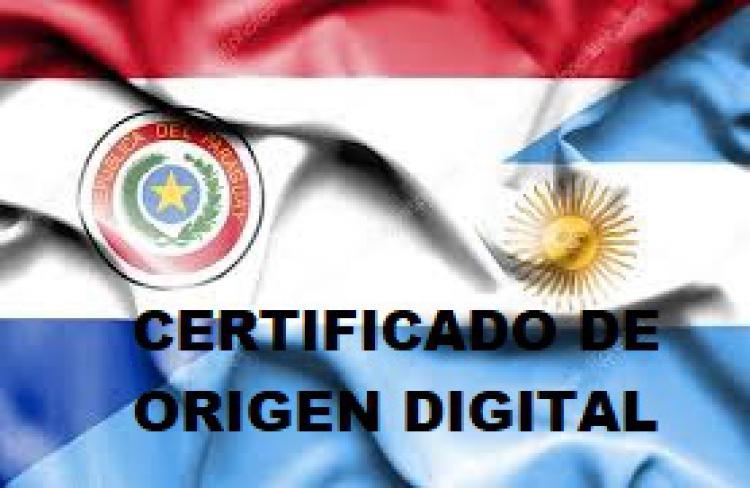 Plan Piloto Certificado de Origen Digital con Paraguay