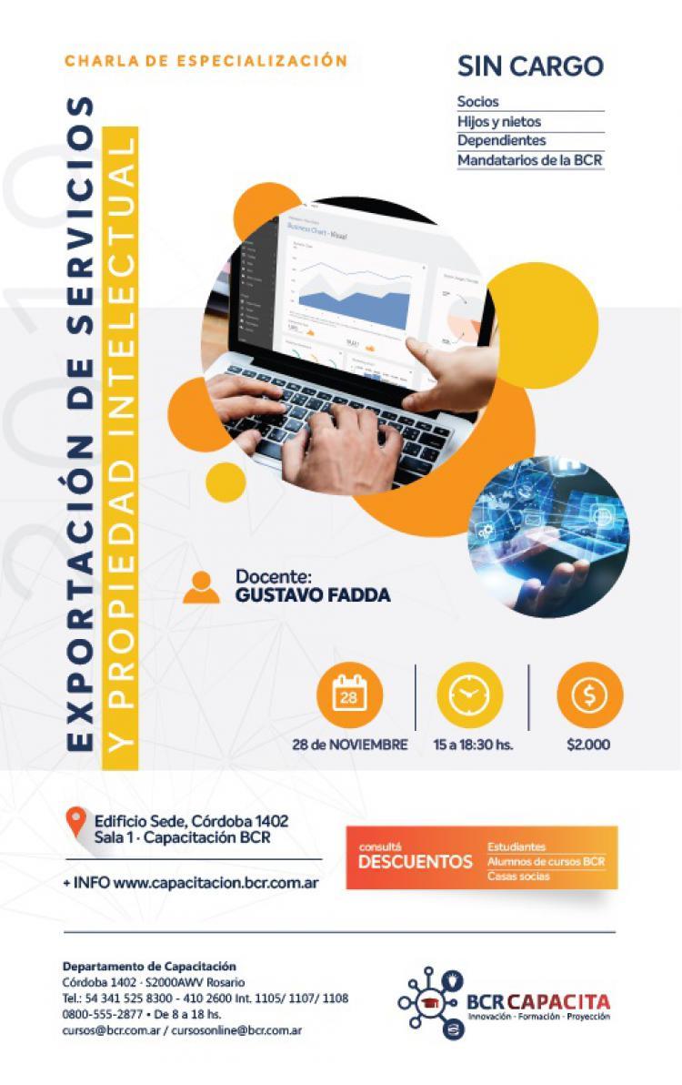 Exportaci�n de Servicios y Propiedad Intelectual