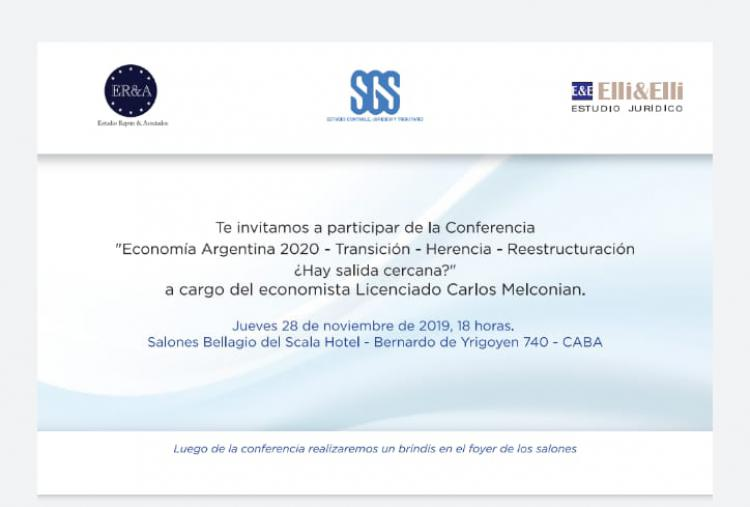 Economia Argentina 2020: Transicion - Herencia -  Reestructuracion. Hay salida cercana?