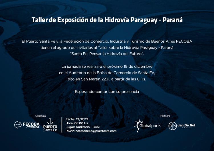 Taller sobre la Hidrov�a Paraguay-Paran�