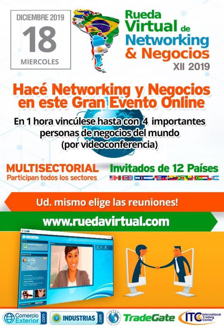 Rueda Virtual de Negocios y Networking