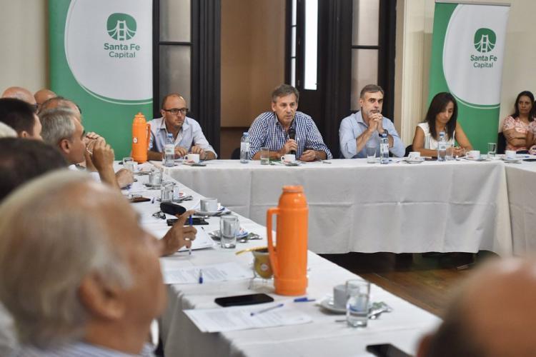 Participaci�n en la Reuni�n del Consejo Econ�mico y Social de la Ciudad de Santa Fe