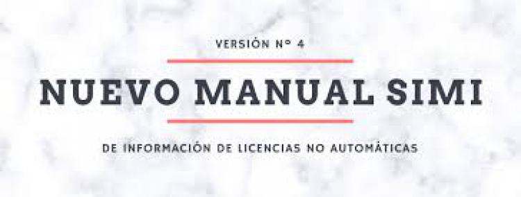 SIMI: Nueva Manual y Listado de Preguntas Frecuentes