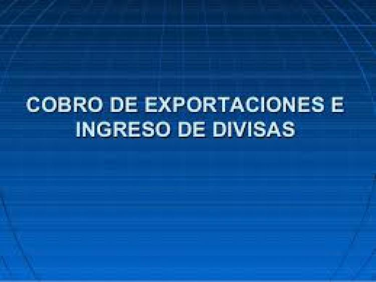 Excepcion a la demostracion de registro de ingreso aduanero o reingreso de los fondos dentro del plazo estipulado por la norma vigente