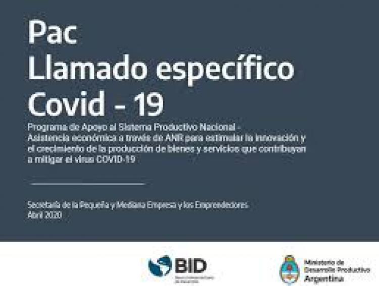 Acceder a PAC COVID-19