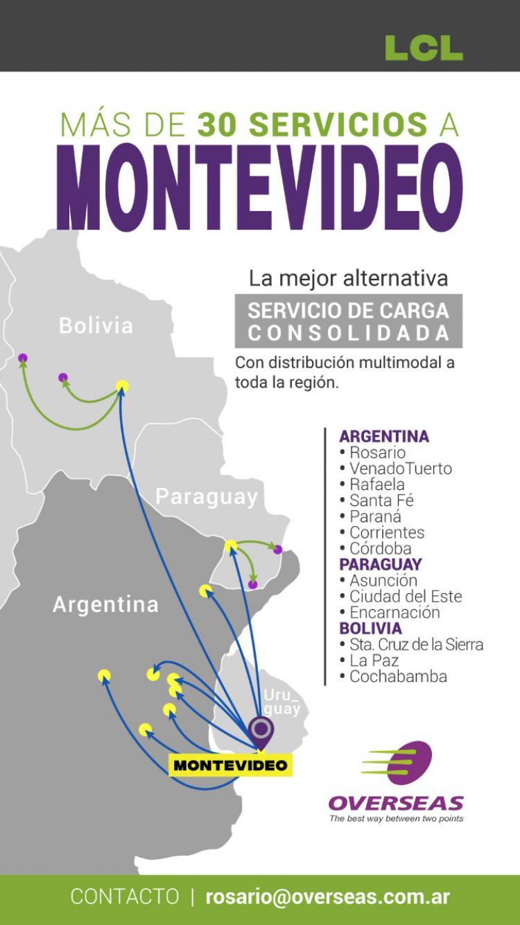 Overseas: Desde Montevideo a toda la Región
