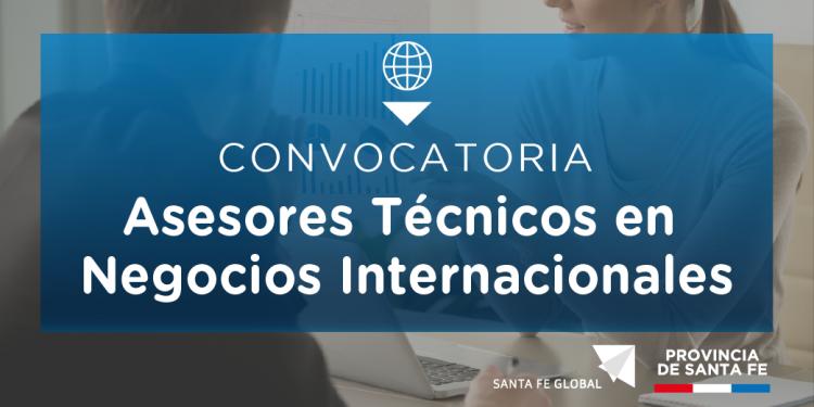 Convocatoria: Asesores T�cnicos en Negocios Internacionales