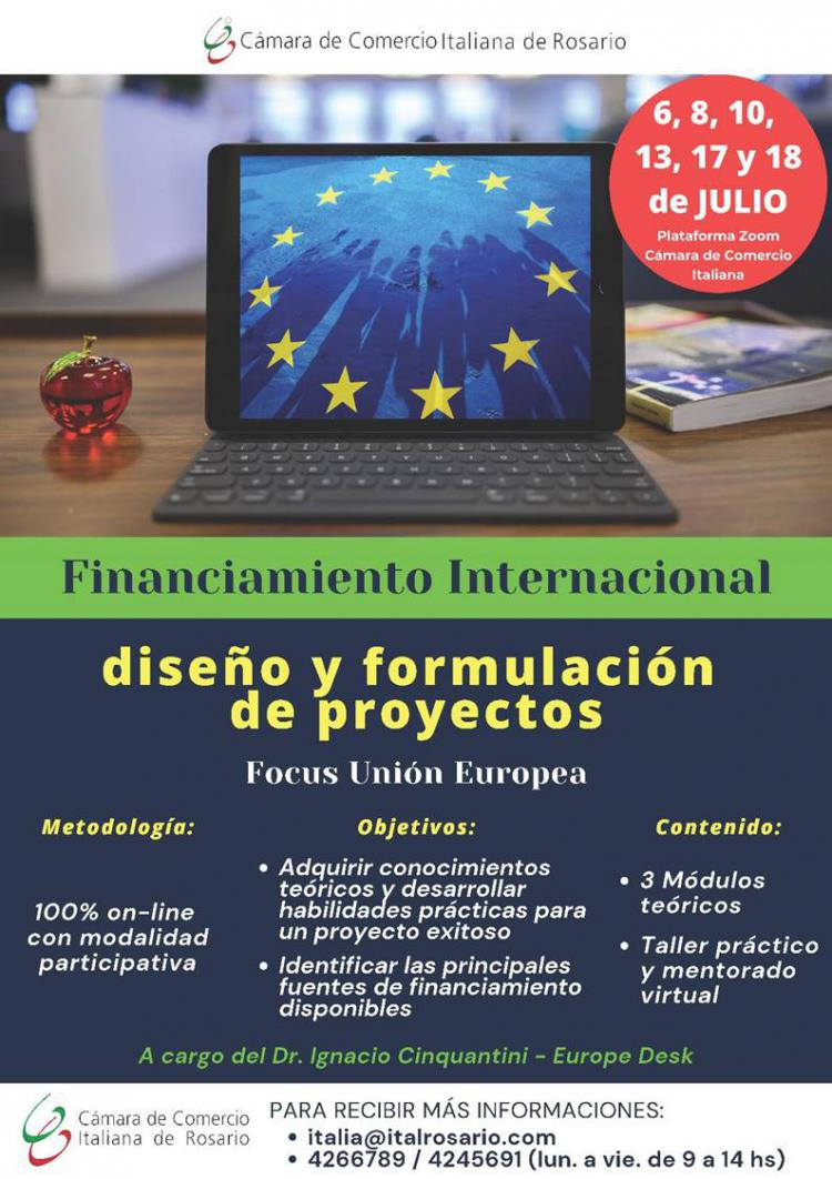 Financiamiento Internacional con Focus Uni�n Europea