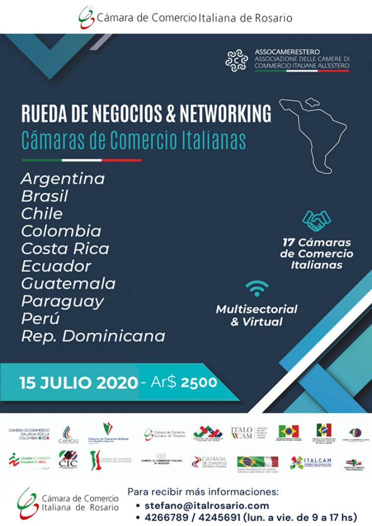 Rueda de negocios y networking en Am�rica Latina